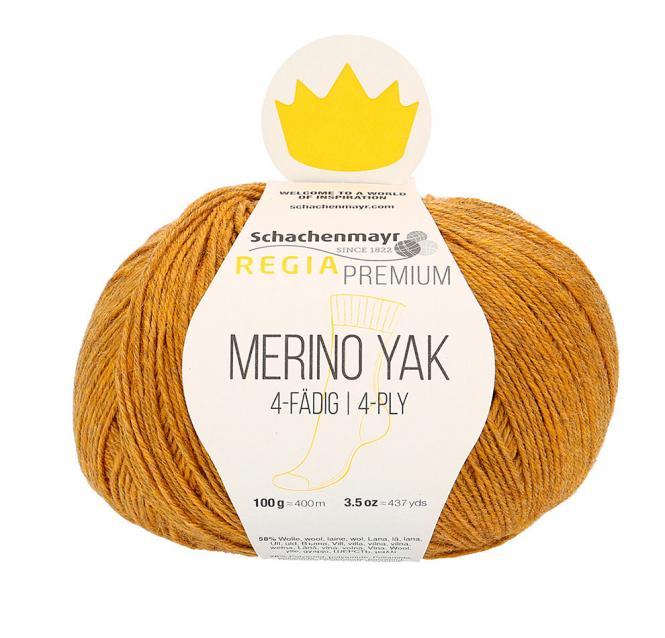 Großhandel Regia Merino Yak 100g 4-fädig