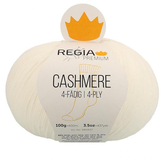 Wholesale Regia Cashmere 100g 4-ply