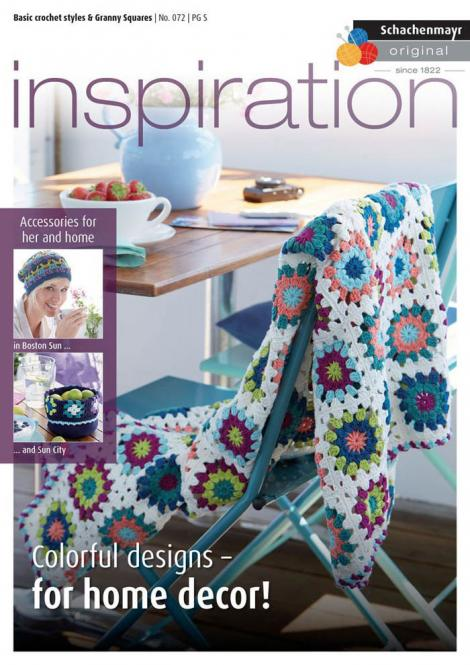 Großhandel Inspiration No. 072 Basic crochet styles & Granny Squares