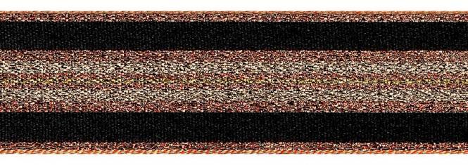 Großhandel Band Winter Stripe 25mm