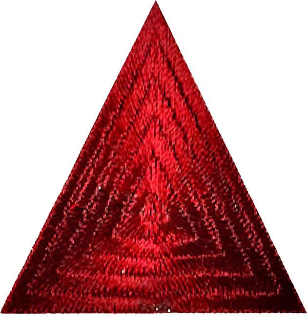 Großhandel Applikation Dreieck