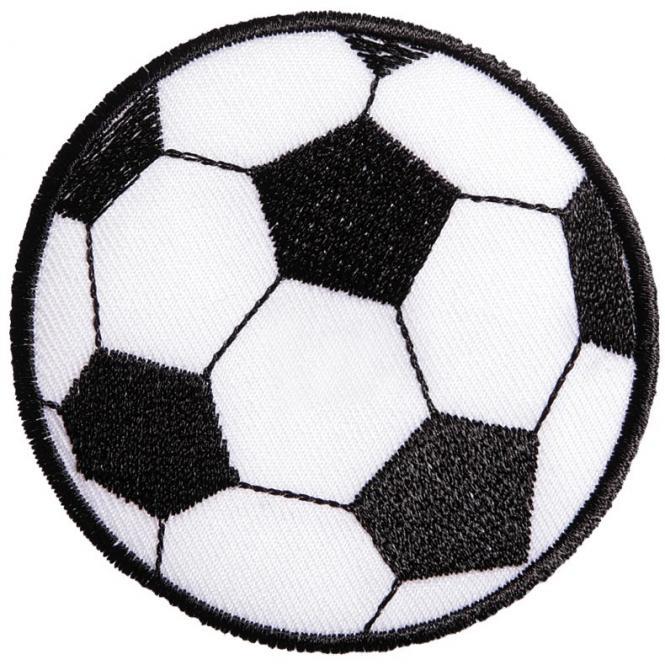 Wholesale Motif Soccer, Large Iron-On