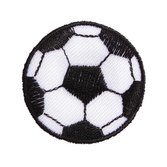 Großhandel Applikation Fussball