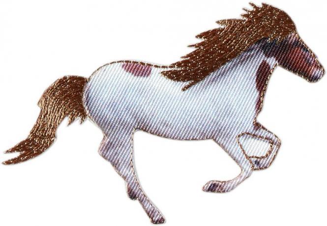 Großhandel Applikation Pferd