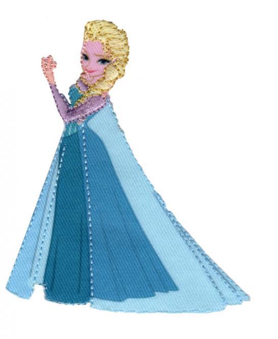 Großhandel Applikation Frozen Elsa