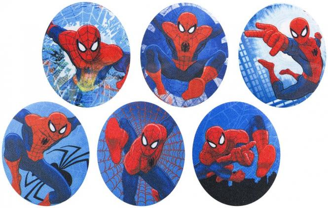 Großhandel Patches Sort.6x1 Spiderman