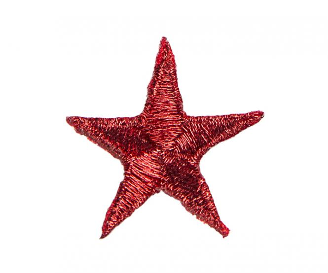 Wholesale Motif star dark red