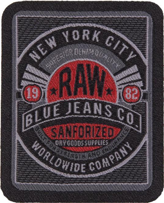 Großhandel Applikation RAW BLUE JEANS CO.