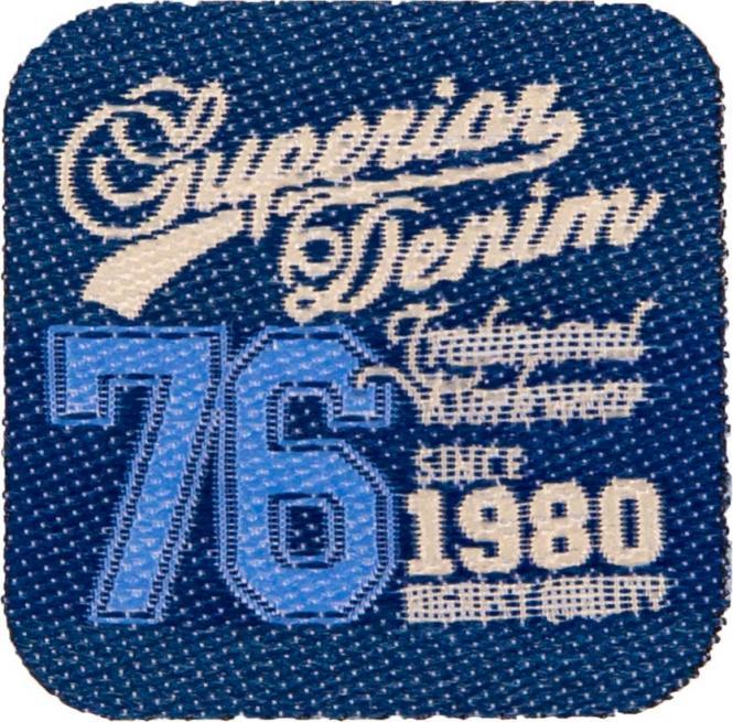 Großhandel Applikation Superior Denim 76