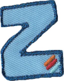 Großhandel Applikation Buchstabe Z