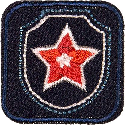 Wholesale Motif Jeans Star blue