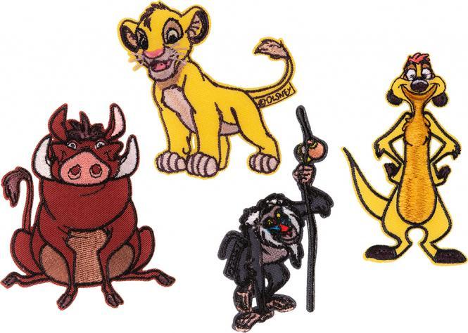 Großhandel Applikation Sort. 4x2 König der Löwen
