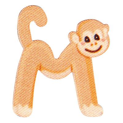Großhandel Applikation Kids Letter Animals M