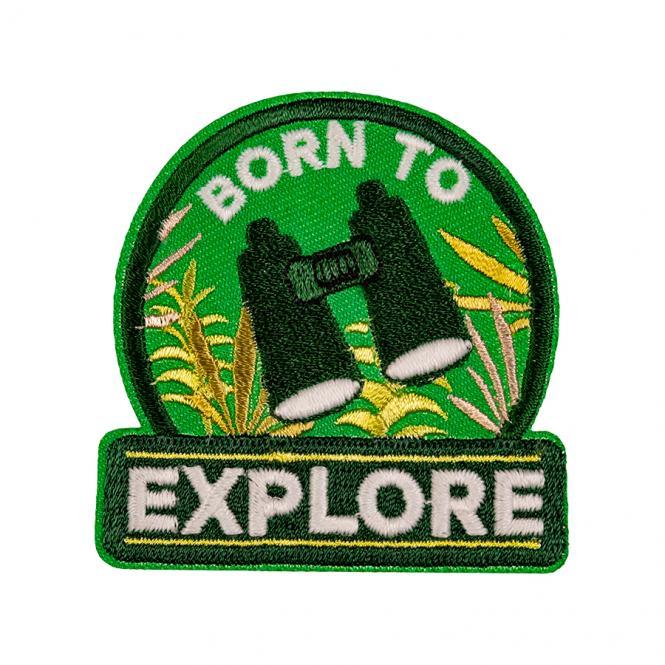 Großhandel Applikation Born to Explore