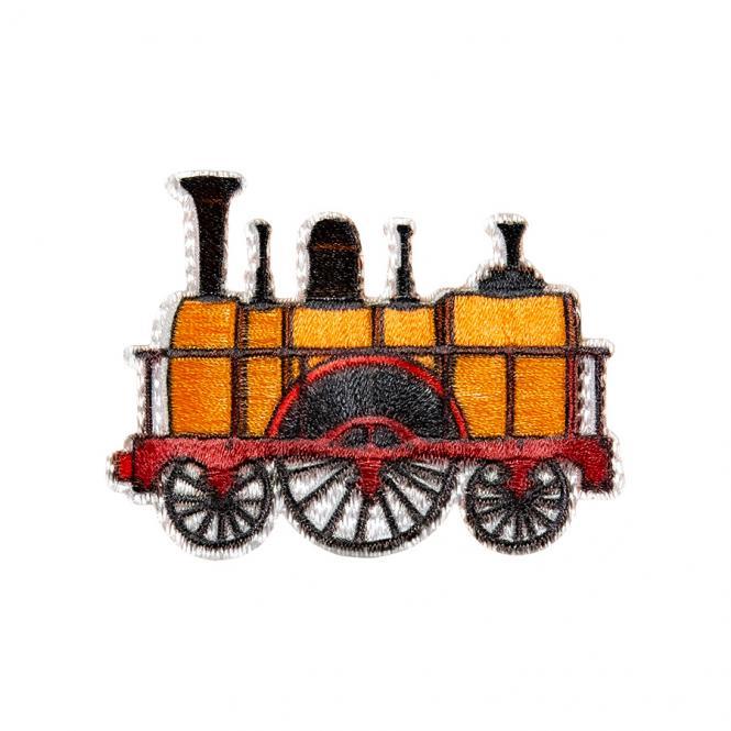 Großhandel Applikation Lokomotive Retro