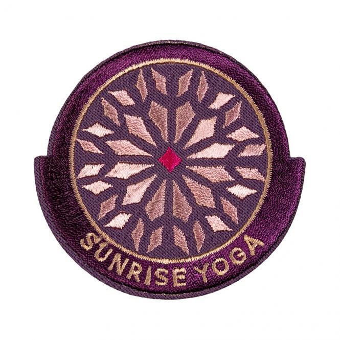 Großhandel Applikation Sunrise Yoga