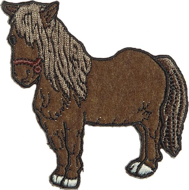Großhandel Applikation Pony