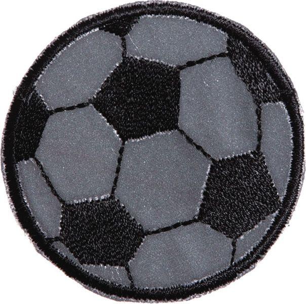 Großhandel Applikation Reflexmotiv Fussball