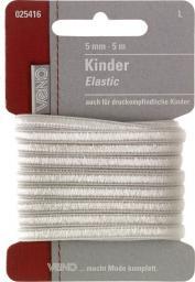 Kinder Elastic SB 5mm weiß, 4028752071747