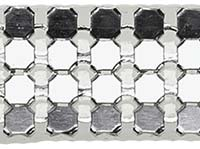 Rhinestone imitation braid iron on 12mm, 4028752462880