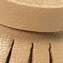 Quaste/Tassel mit Aufhänger 60mm Gesamtlänge 11cm Kunstleder, 4028752510659