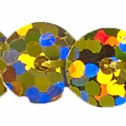 Paillettenborte einreihig 6mm irisierend, 4028752133940
