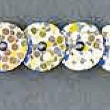 Paillettenborte einreihig 6mm irisierend, 4028752133957