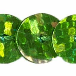 Paillettenborte einreihig 6mm irisierend, 4028752137573