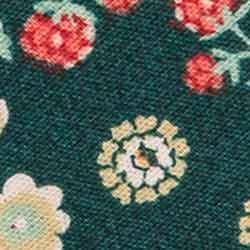 Schrägband gef.30/18 Blumen, 4028752511090