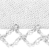 Bias Binding With Crochet Trim, 4028752369608