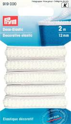 Deco-Elastic 12 mm weiß, 4002279102108