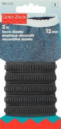 Deco-Elastic 12 mm schwarz, 4002279102153