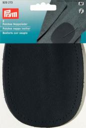 Patch.nappa leath.sew-on 10x14 d.blue2pc, 4002279159102