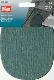 Patches Jeans (zum Aufbügeln) hellblau, 4002279149318