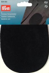 Patches Veloursleder (zum Aufnähen) schwarz, 4002279149400