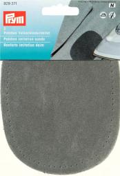 Patches imit.suede iron 10x14 m-grey 2pc, 4002279158952