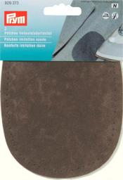 Patches imit.suede iron 10x14 d-brown2pc, 4002279158976