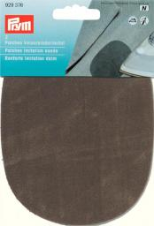 Patches imit.suede iron 10x14 olive  2pc, 4002279165332