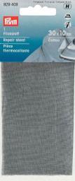 Repair sheet CO 12x45cm iron lt.grey 1pc, 4002279159188