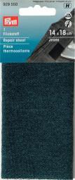 Flickstoff Jeans (zum Aufbügeln) 12 x 45 cm dunkelblau, 4002279159119