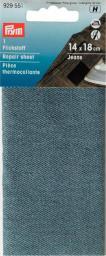 Flickstoff Jeans (zum Aufbügeln) 12 x 45 cm hellblau, 4002279159126