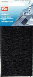 Flickstoff Jeans (zum Aufbügeln) 12 x 45 cm schwarz, 4002279159133