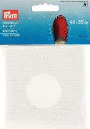 Espadrilles-Basisstoff 40x55cm weiß, 4049909324004