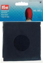 Espadrilles-Basisstoff 40x55cm tinte, 4049909324028