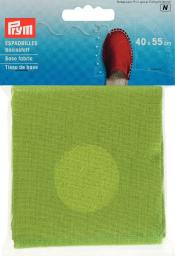 Espadrilles-Basisstoff 40x55cm grün, 4049909324073