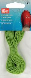 Espadrilles-Kreativgarn 7m grün, 4049909326077