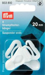 Strumpfhalter-Hänger KST 20 mm weiß, 4002279108209