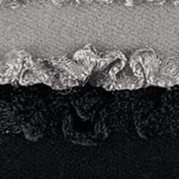Prym Love Rüschen-Elastic 16mm schwarz/grau 2x1m, 4049909578032