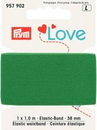 Prym Love Elastic-Bund 38 mm grün, 4049909579022