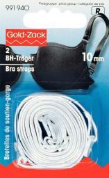 Bra straps 10mm white                2pc, 4002279158778